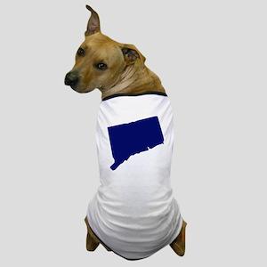 Connecticut - Blue Dog T-Shirt
