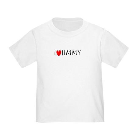 I Love Jimmy Toddler T-Shirt