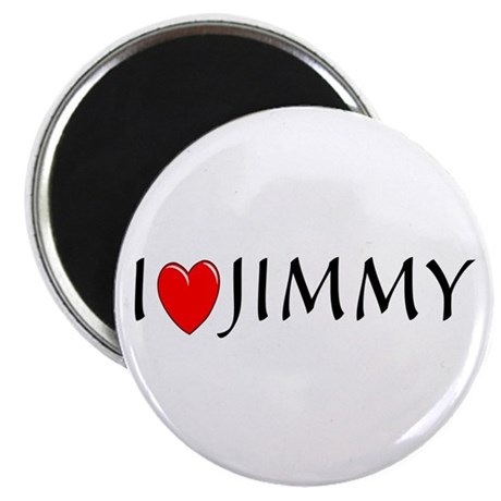 I Love Jimmy Magnet