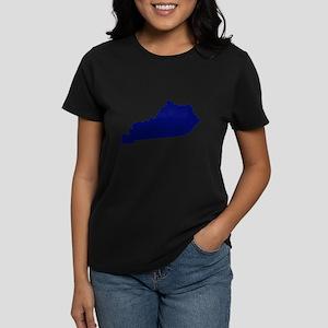 Kentucky - Blue Women's Dark T-Shirt