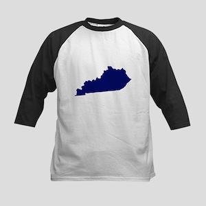 Kentucky - Blue Kids Baseball Jersey
