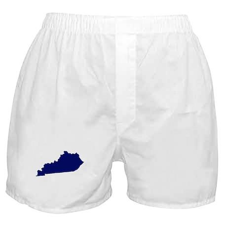 Kentucky - Blue Boxer Shorts