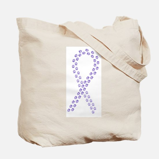 Violet Paws Cure Tote Bag
