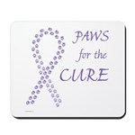 Violet Paws Cure Mousepad