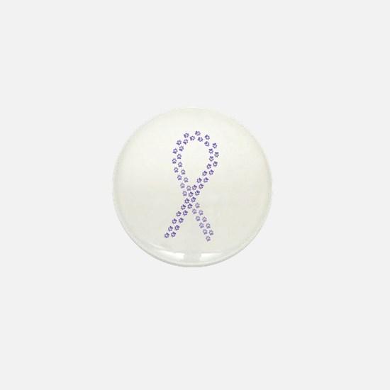 Violet Paws Cure Mini Button