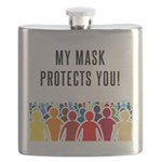My Mask Protects You! Flask