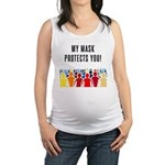 My Mask Protects You! Tank Top