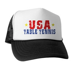 USA Table Tennis Trucker Hat