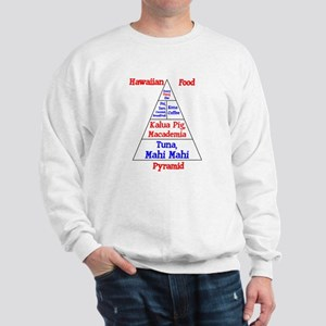 Hawaiian Food Pyramid Sweatshirt