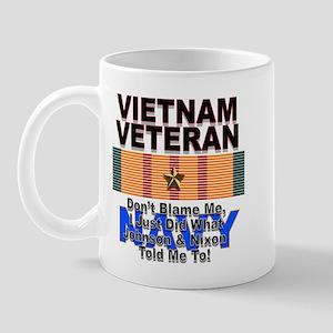 Vietnam Veteran Navy Mug