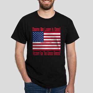 Osama bin Laden Is Dead Dark T-Shirt