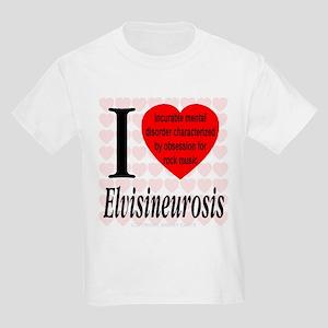 I Love Elvisineurosis (TM) Kids T-Shirt