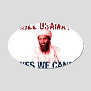 Osama Bin Laden Death 22x14 Oval Wall Peel