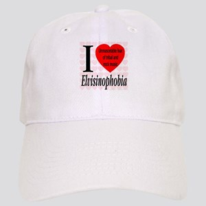 I Love Elvisinophobia (TM) Cap