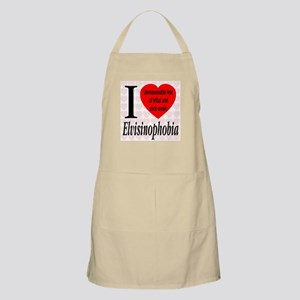 I Love Elvisinophobia (TM) BBQ Apron