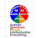Autistic Spectrum Small Poster