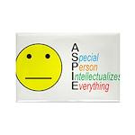 Autistic Spectrum Rectangle Magnet (100 pack)