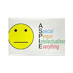 Autistic Spectrum Rectangle Magnet (10 pack)