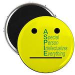 """Autistic Spectrum 2.25"""" Magnet (100 pack)"""