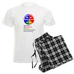 Autistic Spectrum Men's Light Pajamas