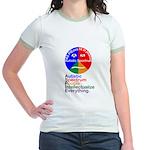 Autistic Spectrum Jr. Ringer T-Shirt