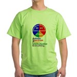 Autistic Spectrum Green T-Shirt