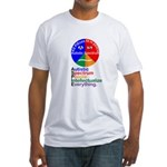 Autistic Spectrum Fitted T-Shirt