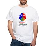 Autistic Spectrum White T-Shirt