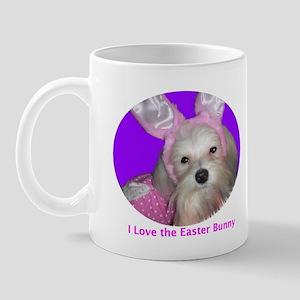 I love the Easter Bunny! Mug