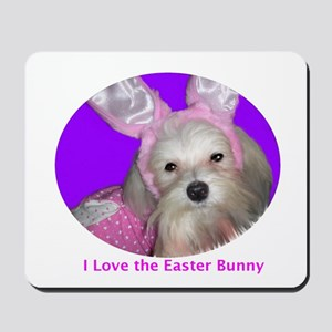 I love the Easter Bunny! Mousepad
