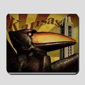 Jayhawk Nation Mousepad