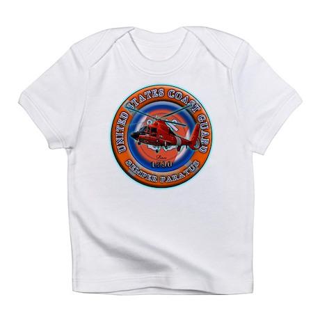 USCG Life Ring-Helo Infant T-Shirt