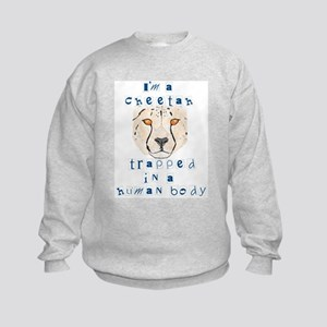 I'm a Cheetah Kids Sweatshirt