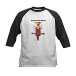 Scooter-Puppy Kids Baseball Jersey