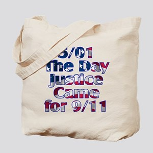 5/01 Justice for 9/11 Tote Bag