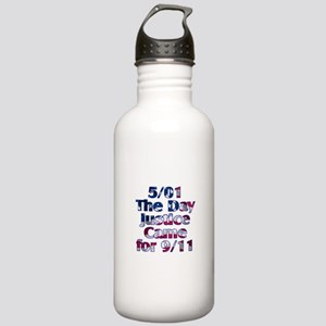 5/01 Justice for 9/11 Stainless Water Bottle 1.0L