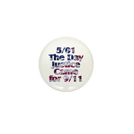 5/01 Justice for 9/11 Mini Button