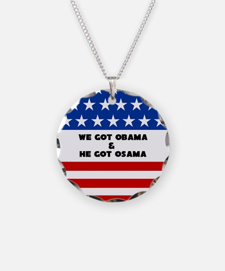 Osama Bin Laden Dead - Necklace