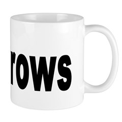 I Love Crows Mug
