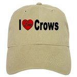 I Love Crows Cap