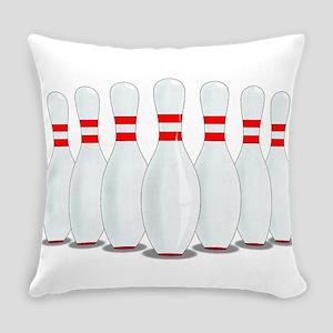 Ten Pins Everyday Pillow