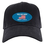 Yes We Did May 1 2011 Black Cap