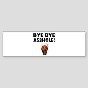 Bye Bye Asshole (Bin Laden) Sticker (Bumper)