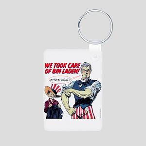 $9.99 Dead Bin Laden Aluminum Photo Keychain
