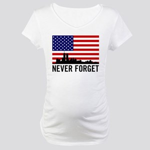 Never Forget Maternity T-Shirt