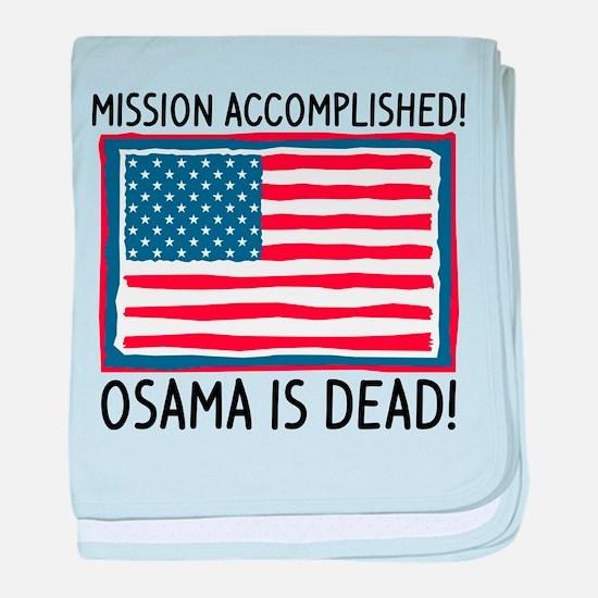 Osama baby blanket