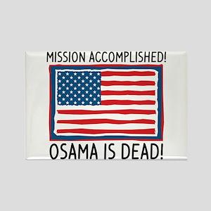 Osama Rectangle Magnet