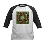 Celtic Dragon Labyrinth Kids Baseball Jersey