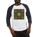 Celtic Dragon Labyrinth Baseball Jersey