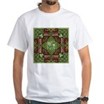 Celtic Dragon Labyrinth White T-Shirt